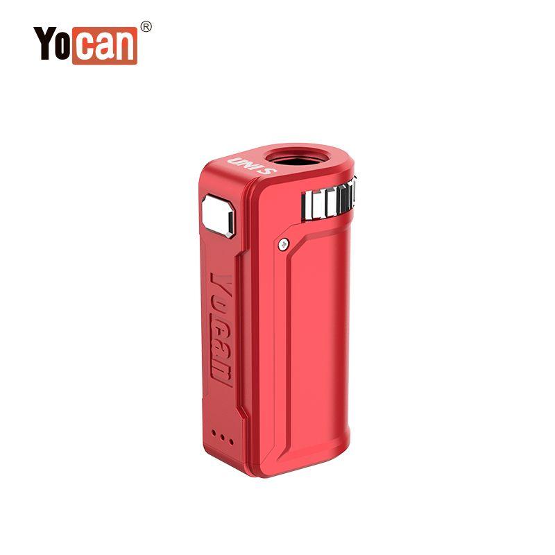 Аутентичные yocan Uni s 400mah box мод переменное напряжение предварительно нагрева VV аккумулятор для 510 толщиной нефтяные картриджи