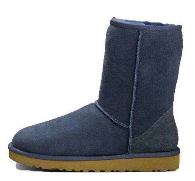 Горячие продажи 2021 новая мода классическая Австралия WGG женская платформа женские женские снежные ботинки зима меховые снежные половина колена короткие сапоги