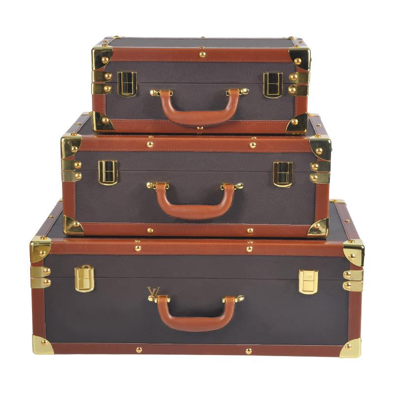 Valigie in pelle PU New Set Designer Viaggi Valigia Valigia bagaglio Moda Unisex Bach Bag Borsa Fiori Lettere Valigie Borse Bags