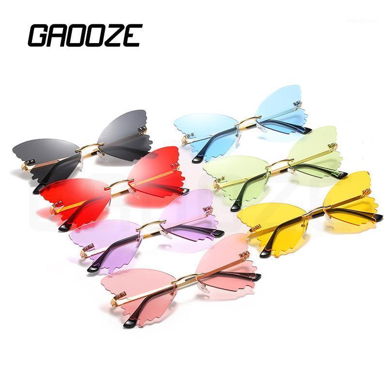 Солнцезащитные очки Gaoeze Роскошные Бабочка Женская Мода Женщины Антибликовые Очки Дизайн бренда LXD4001