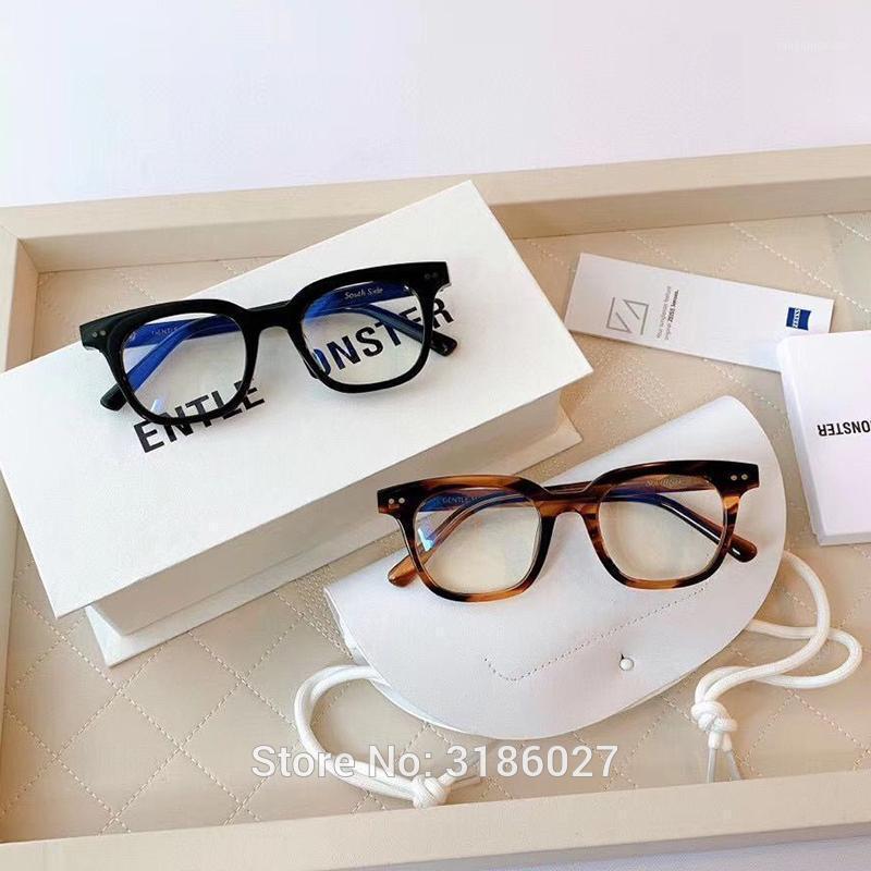 Korea Marke Brillen Rahmen Optische Rahmen Acetat Brillen Verordnung GM Gläser Frauen Männer Sanfte Südseite Myopie Frames1