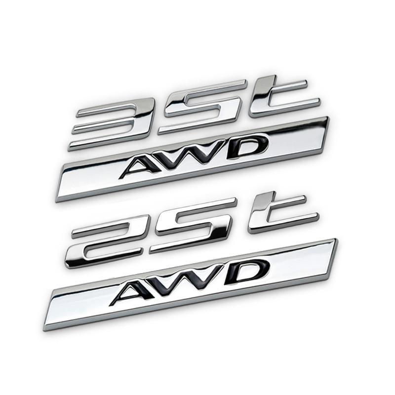 1 pieza de accesorios de automóviles para jaguar F-ritmo trasero cola emblema etiqueta alta versión 25t 35t metal pegatina 3d dedicada deporte r decoración