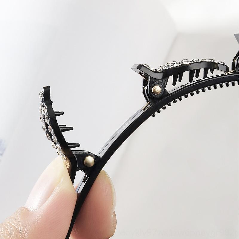 65ucz Defekte Artefakt Weibliche Haarnadel Kopfschmuck Unsichtbare Feste Haarspange Pony Hairpin-Reifen Weibliche Anti Ungeweiltes Permanent Haar Flechten Er