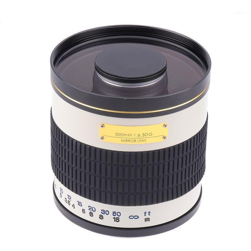 500 мм F6.3 Ручной фокус Телетатор Зеркало объектив + T2 Адаптерное кольцо для Canon EF EOS DSLR Camera1