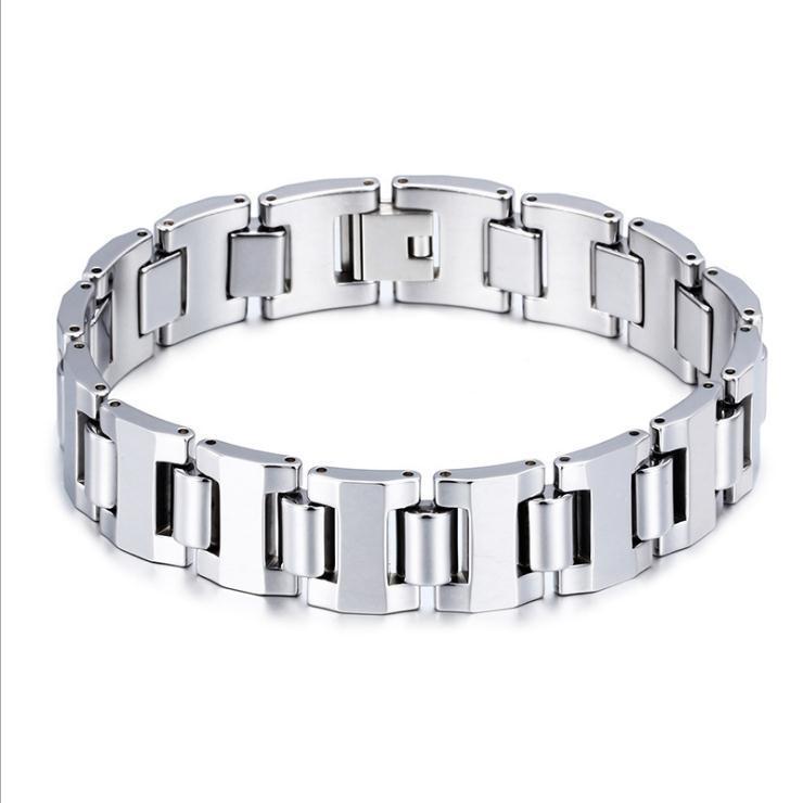 Top Qualität Männer Wolfram Armbänder Wolframkarbid Armbänder Wolfram Schmuck Fabrik Lieferant Modeschmuck Lieferant Großhandel KL61143