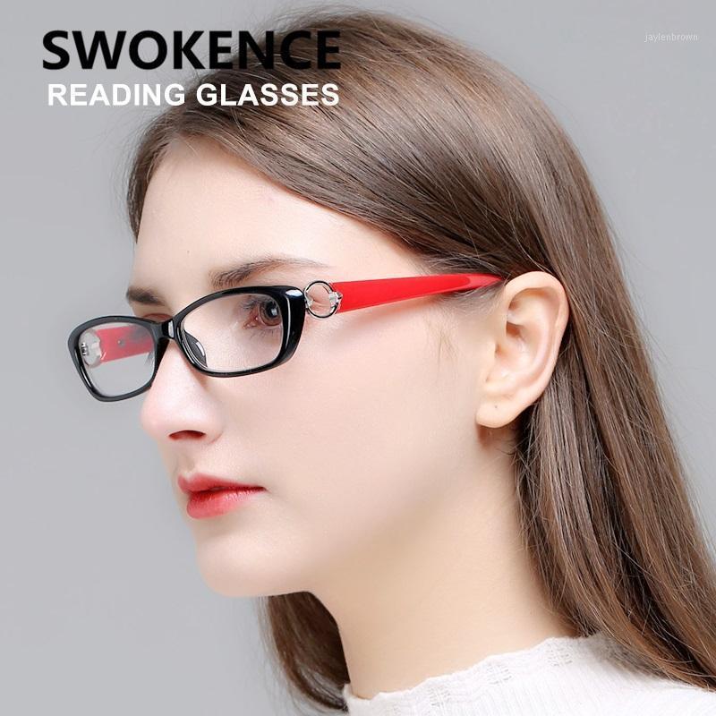 Sweakce Upscale Lesebrille Frauen Presbyopic Brillen Computer Gläser für Hyperopia 1,0 1,5 2.0 2.5 3.0 3.5 R1071