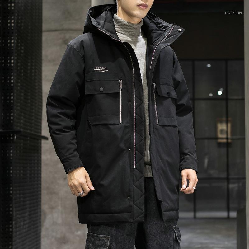 Мужская куртка Parkas Mouse Больше мужчин 2021 зимнее пальто в моде DS594TP2001