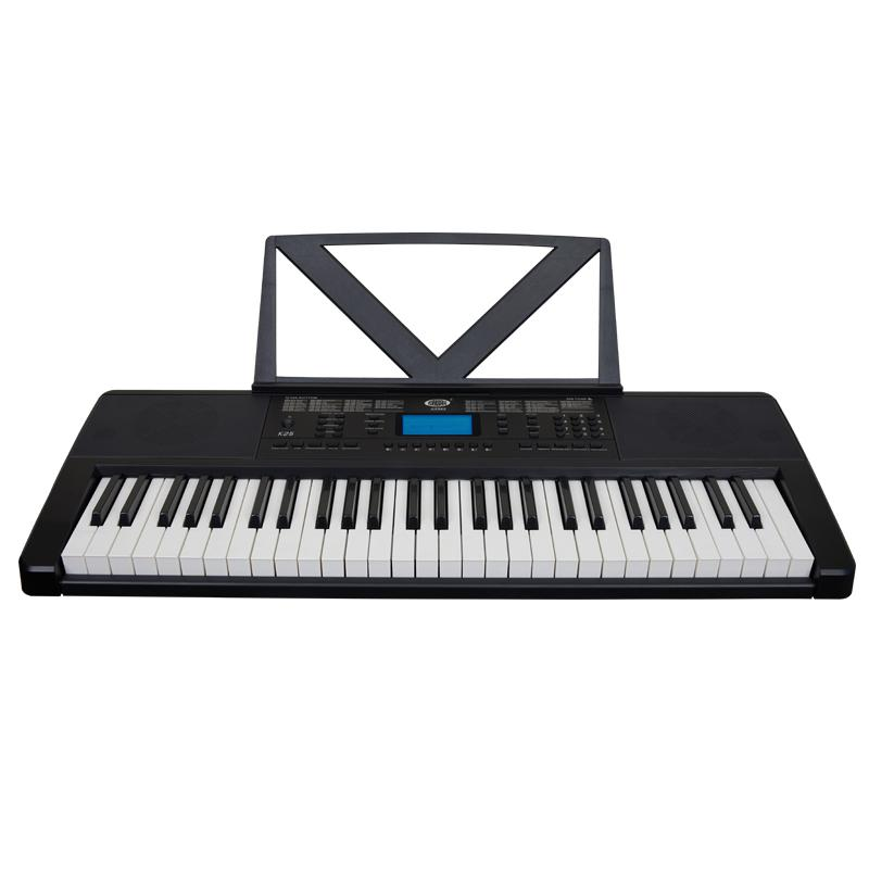 Claviers électroniques 54 Touches Noir Digital Piano Organe Digital Music Key Board pour enfants Débutant cadeau