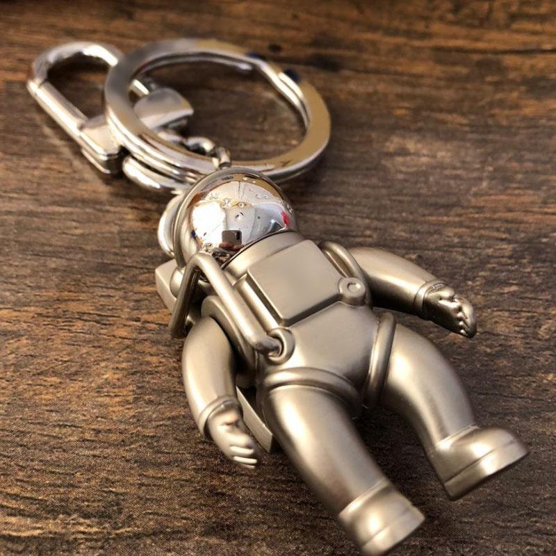 Spaceman Llavero Accesorios de Cadena de Moda Diseñador de Coche Llavero Accesorios Accesorios Para Hombres Y Mujeres Colgante Caja Paquete Llaveros