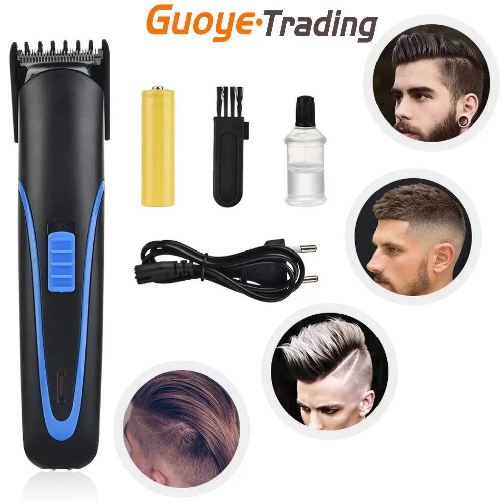 Clippers électriques rechargeables Couple de cheveux professionnels Coiffeur de coiffure Gravure Rasoir facile La famille de cheveux entière peut l'utiliser très célèbre transfrontalière exclusivement