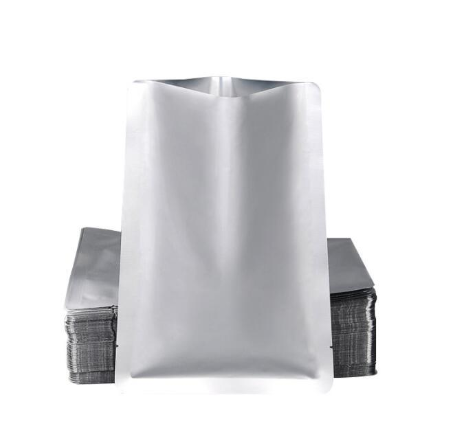 Calor Seal alimentar Folha de alumínio saco de alta resistência à temperatura de cozimento de alimentos churrasco bolsa aberta Principais máscaras de chá pacote de vácuo Embalagem Sacos