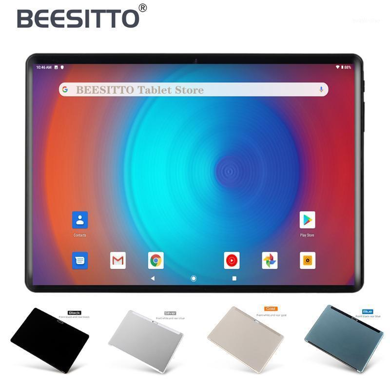 Tablet PC Original 10 Inch 32GB ROM 2.5D Large Screen Tempered Glass 5.0MP Dual Camera Android 9.0 OS WiFI GPS 10.11