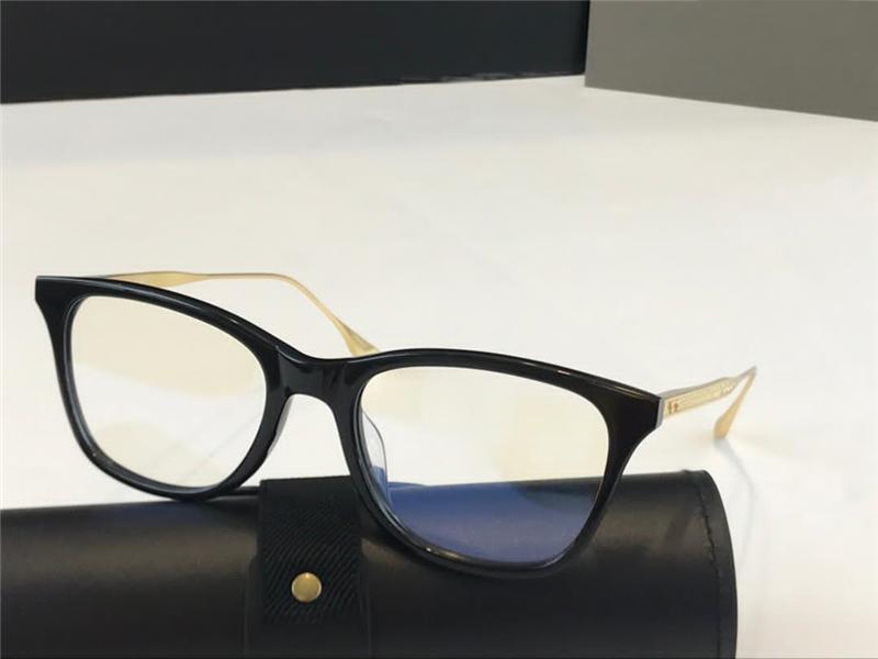 DTX505 Nuovi vetri metallo Retro occhiali vetri ottici modo di stile di piastra e Metal Templi rettangolo completa copertura frame UV 400 lenti