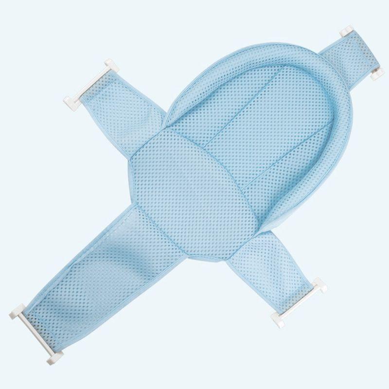 Nouveau-né Baignoire Baignoire Anti-Skid Baignoire Net Sleing Réglable Tapis de lit Cross Mesh R9JD 201019