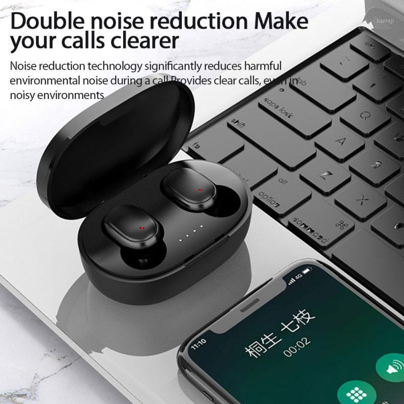 A6S PRO TWS Bluetooth Earphone Wireless Headphone Stereo Headset Sport Earbuds Microphone With Charging Box For Smartphone1