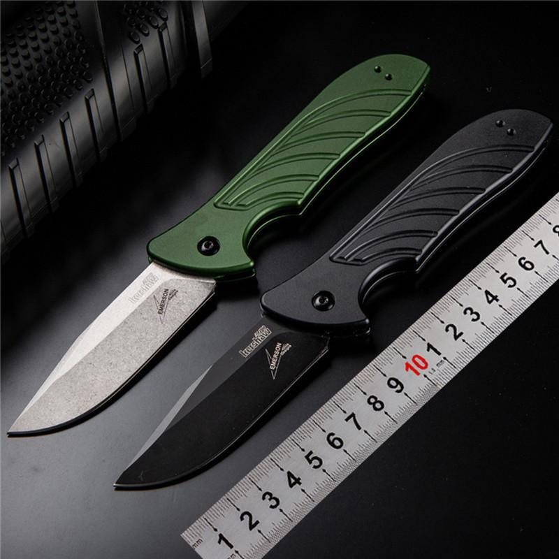 couteau kershaw 7600OL 5 LANCER 154CM lame simple poignée en aluminium d'action Camping couteau de survie couteau pliant cadeau Outils en plein air