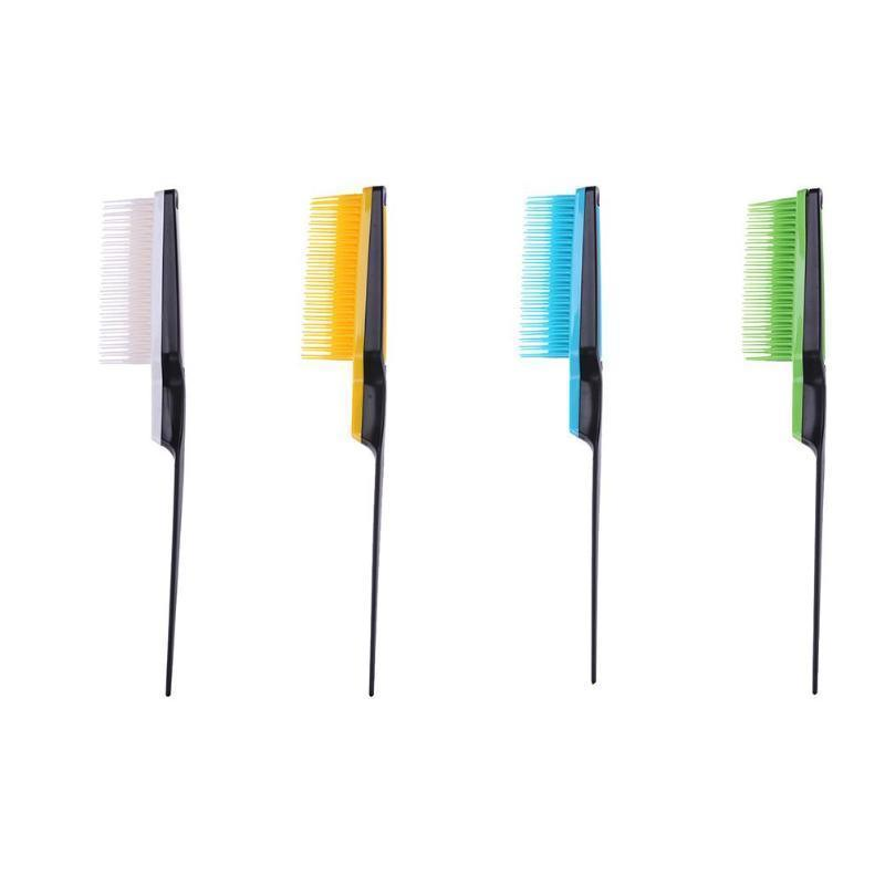 1pc Professional Hair Comb Pointed Tail Comb Teasing Curly Hair Brush Salon Hairdressing Styling Com bbyEfi