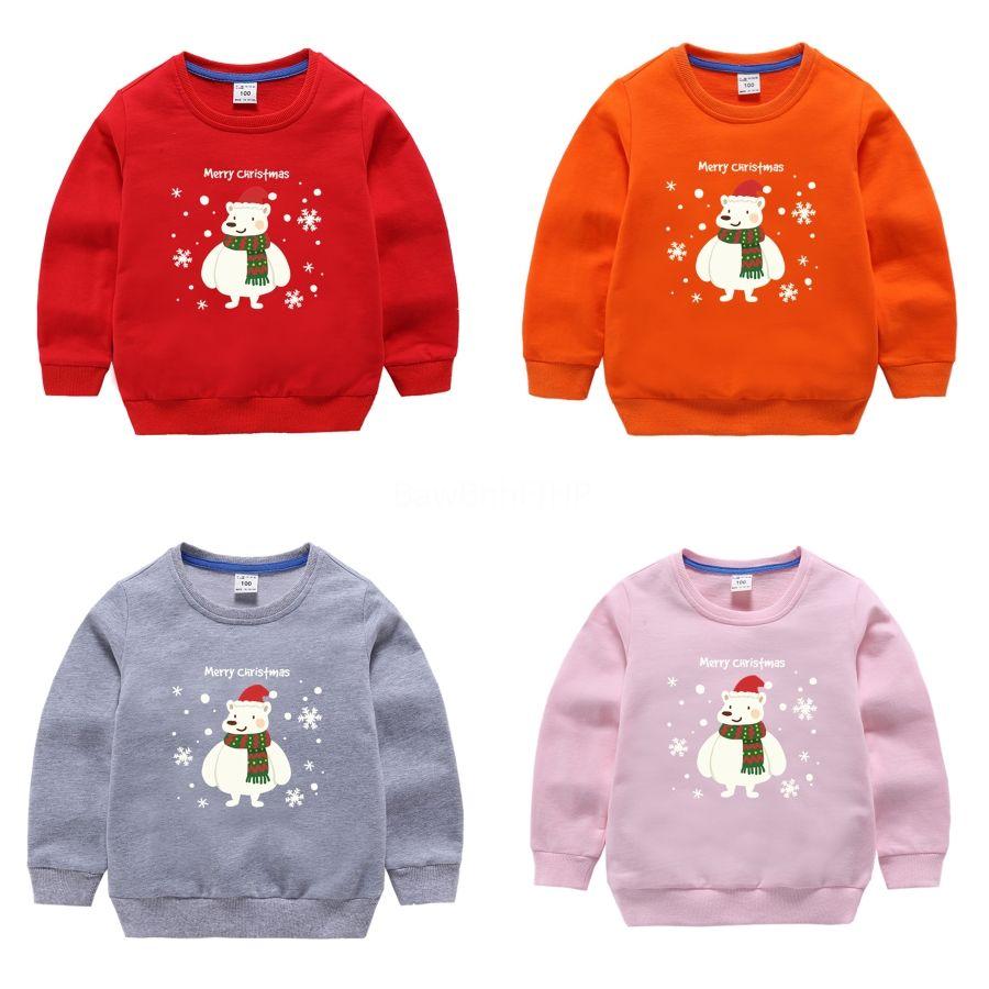 2020 Новой осень зима Красивого свитера для детей вокруг шеи Slim Fit Детского Рождество Свитер и пуловер Ребенок Держи Теплые Пулла Homme # 985