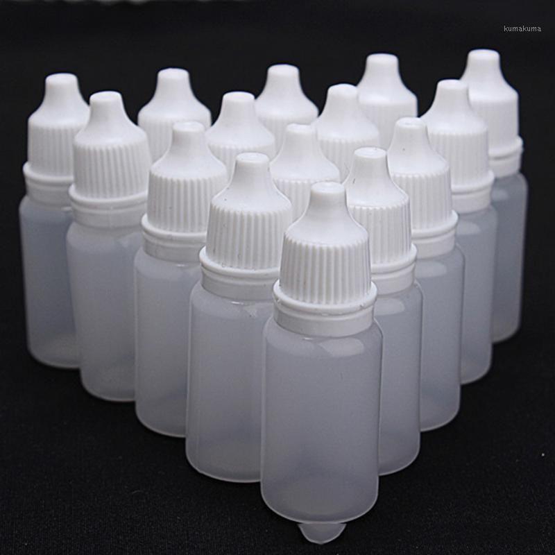 10PCS 10 ملليلتر فارغة البلاستيك زجاجة قطارة قذرة العين قطرات السائل موزع مخزن زجاجات فارغة صغيرة 1