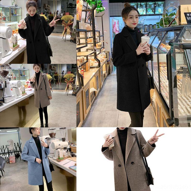 jzQ fashion women mens designer big designer casaco coat double breasted woolen men trench masculino manteau homme jacket men overcoat
