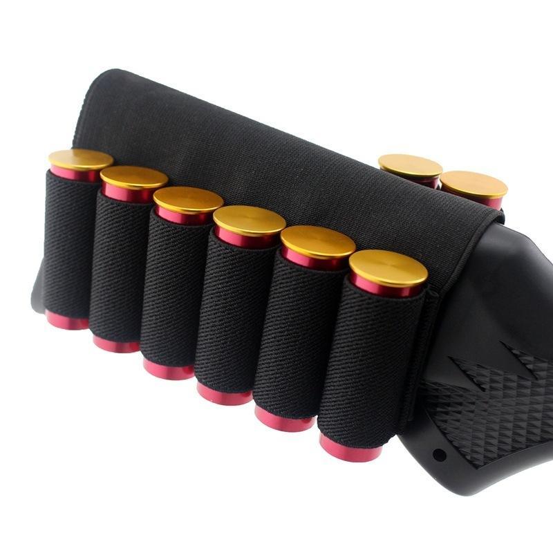 + 2 6 결합 된 총알 슬리브 8 홀 유니버셜 샷건 홀더 옥외 액세서리 패키지
