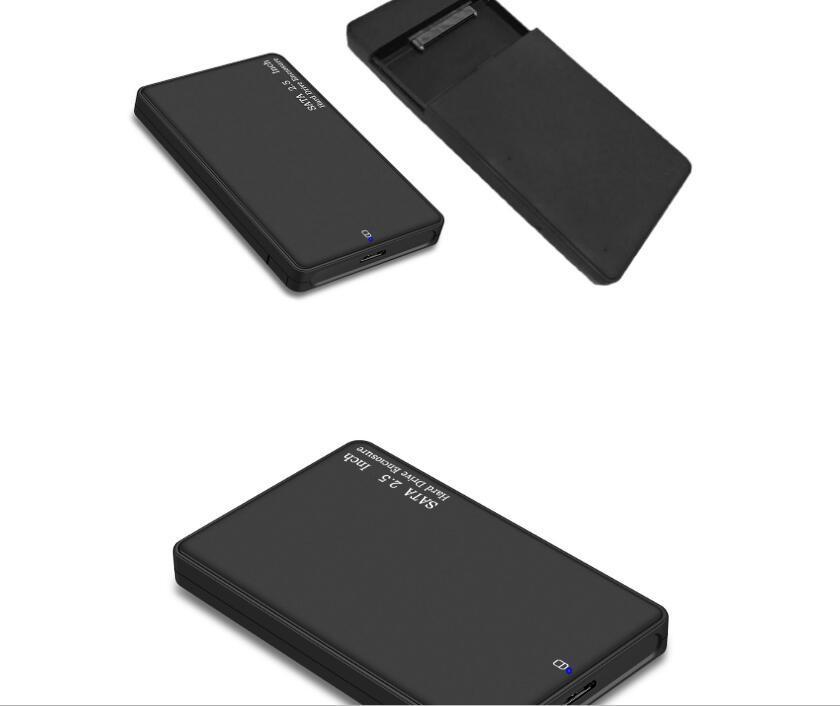 2.5 인치 USB 3.0 HDD 외부 케이스 하드 드라이브 케이스 HDD SSD 케이스 USB SATA 어댑터 외장형 하드 디스크 인클로저
