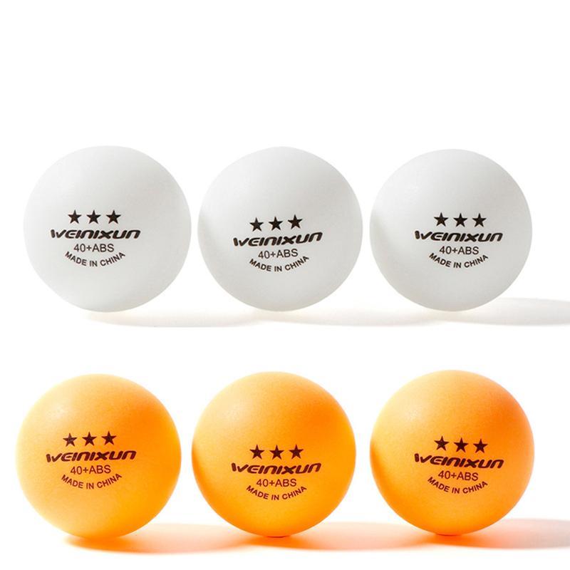 10pcs Material ABS ténis de mesa bolas de 3 Estrelas 40 + mm 2,8 g de plástico de Ping Pong Balls para TableTennis Tenis PingPong Bola