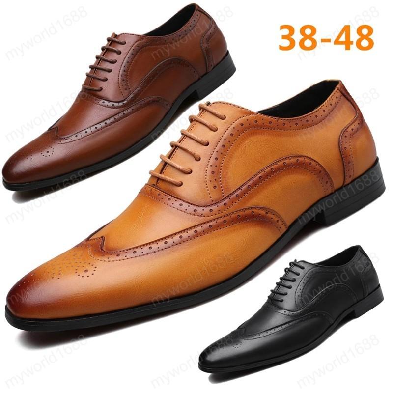 Размер 38-48 Мужские Официальные Обувь Офис Социальная Свадьба Роскошные Элегантные Мужские Платье Обувь 2020 Новый