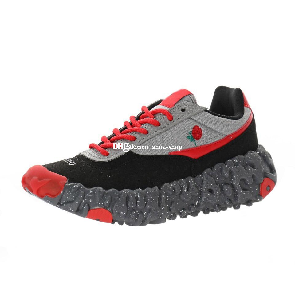Undercover ISPA reagire in modo eccessivo sovrascavo scarpa da tennis per Scarpe Sneakers uomo di sport degli uomini Womens addestratori correnti Sport Scarpe scarpe delle donne