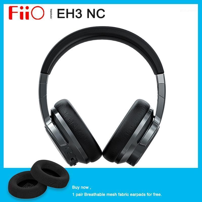 Fiio EH3 NC EH3NC Over-EH3NC ADI الضوضاء إلغاء Bluetooth 5.0 دعم سماعة رأس LDAC / APTX HD / ONE-Touch NFC / 50HR Life Battery1