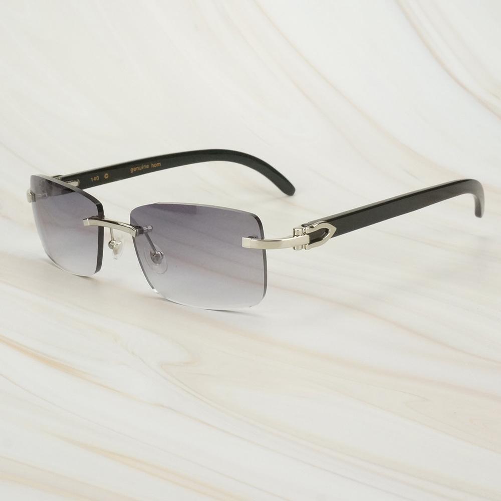 Черные мужчины вождения буйвола рога солнцезащитные очки женщин оттенки на открытом воздухе солнцезащитные очки для мужского картера моды