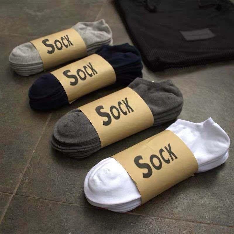 Momentum 10 pares de algodão verão Esportes Barco barco meias masculinas meias opções de absorção de suor e de ventilação cfjJy