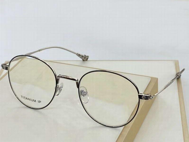 Silver Black Titanium Eyeglasses Очки Очки Очистить объектив Модные Солнцезащитные очки Очки Очки с коробкой