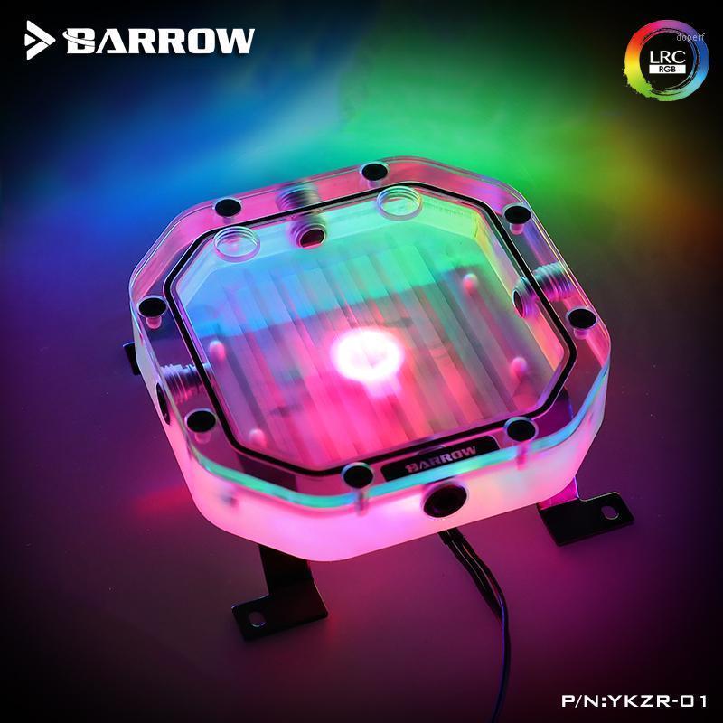 Barrow radiator Combined Split Reservoir Acrylic Intelligent water Tank /A-RGB Light /120-480 radiator/ ARGB light YKZR-011