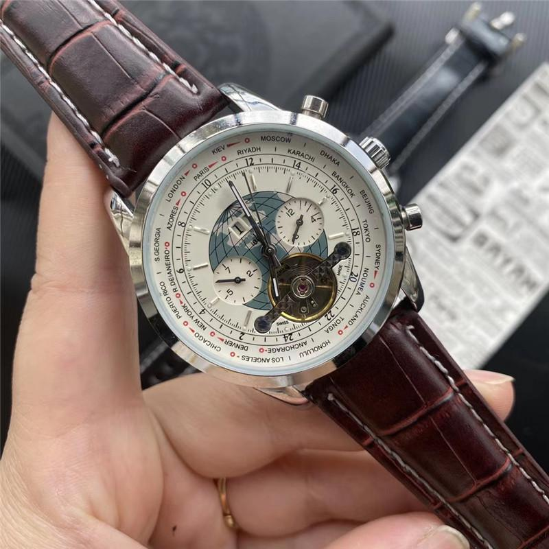Top Quality Business Uomo Guarda Reloj de Hombre Automatic Mechanical Gestore da uomo Designer uomo Designer uomo orologio da polso moda abito orologio Best GIF