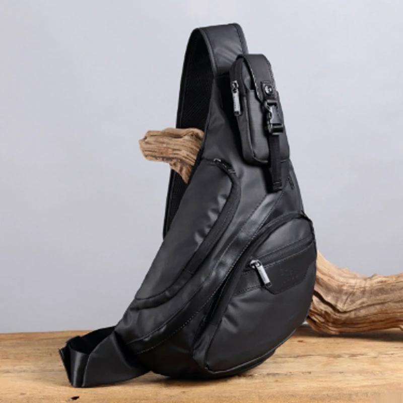 Новый Crossbody Человек сумка Противоугонная плеча сумки Мужской Короткие поездки Chest день сумка пакеты Оксфорд водонепроницаемый