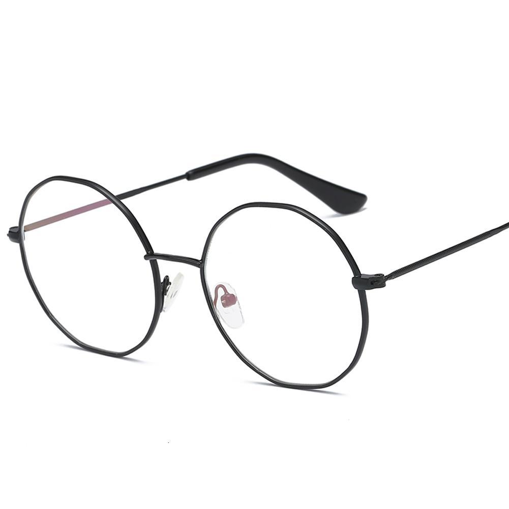 Irrégulière cadre lunettes rondes rétro Femme Marque Designer De Sol Spectacle Gafas oeil Lunettes de plaine lunettes de Gafas