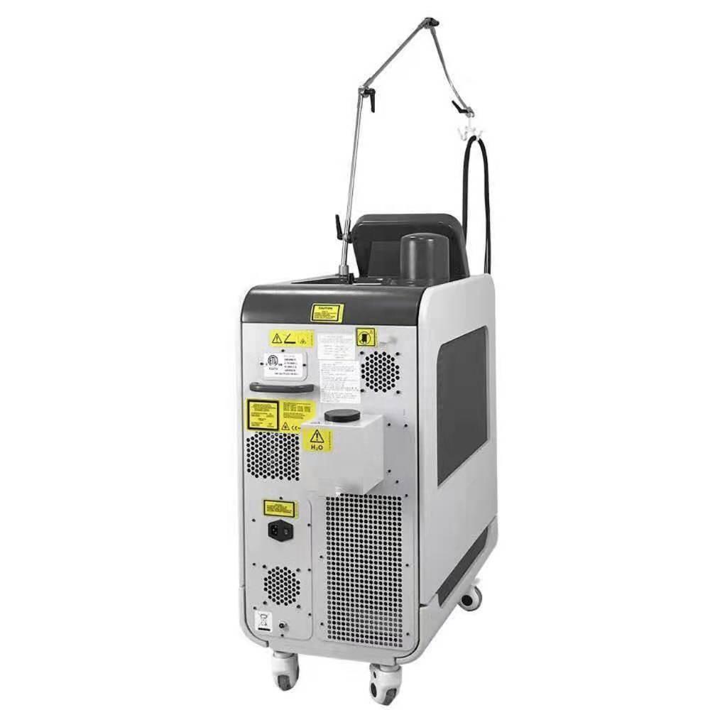 2020 NUEVO 755nm láser de alejandrita Pro + 1064 de longitud de onda del láser permanente y sin dolor Alejandrita Q Switched Deka mach eliminación del vello