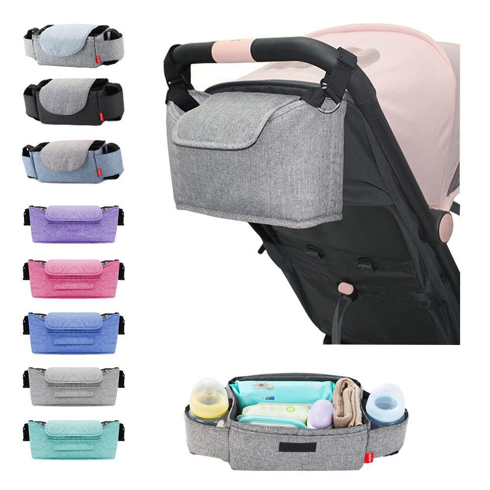 Mummy Diaper Universal Organizador para o bebê de suspensão Bag Stroller Acessórios 201013