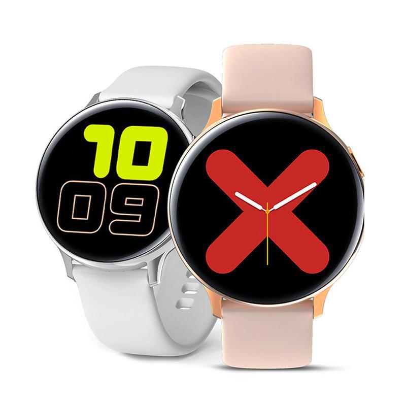 S20 Pro Akıllı İzle IP68 Su Geçirmez Spor Bileklik 1.4 Inç Tam Dokunmatik Ekran EKG Smartwatch Android Cep Telefonları için Bluetooth Bilezik Bant