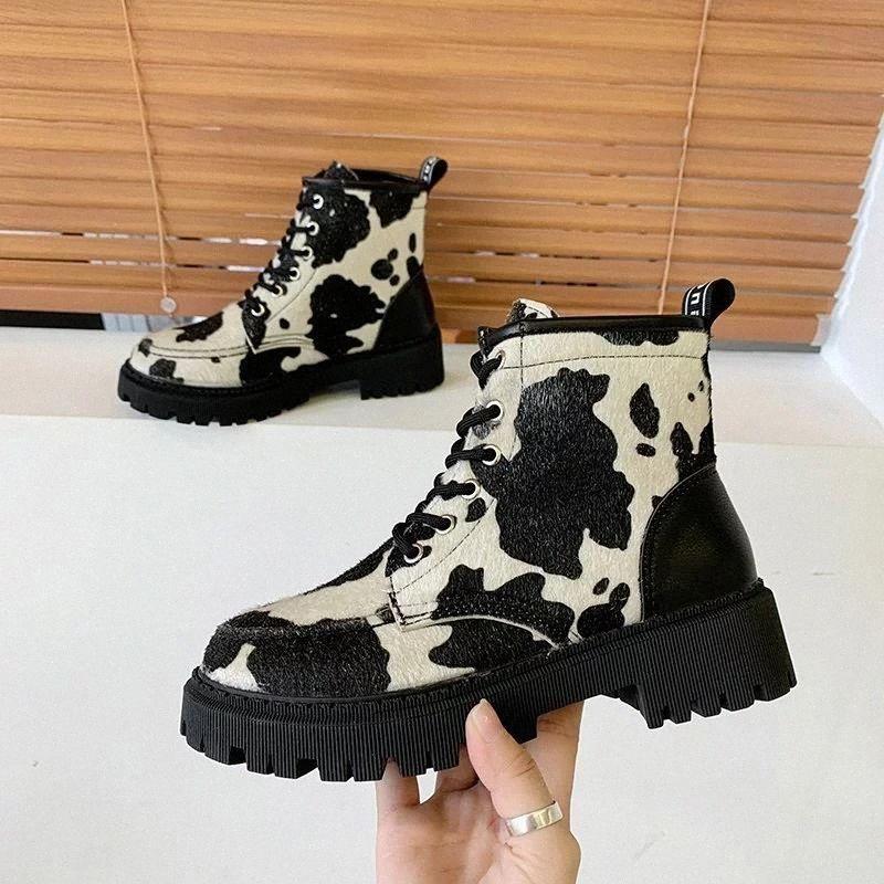 Vintage véritable cheval cheveux occidentaux bottes de cow-boy femme femmes chaussures femme marque mode moto bottines bottines automne bottines botas mujer # 5l9m