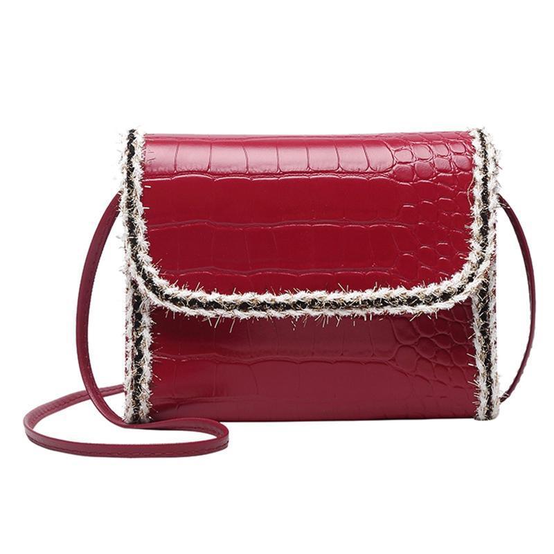 Sacs à bandoulière Petit sac carré Femmes Crossbody 2021 Sacs à main de luxe Messenger Messenger Bolsa Feminina @ 25