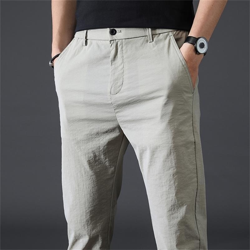 Мужская весенняя мода бизнес повседневная длинный костюм брюки мужские эластичные прямые формальные брюки плюс большой размер 28-38 201218