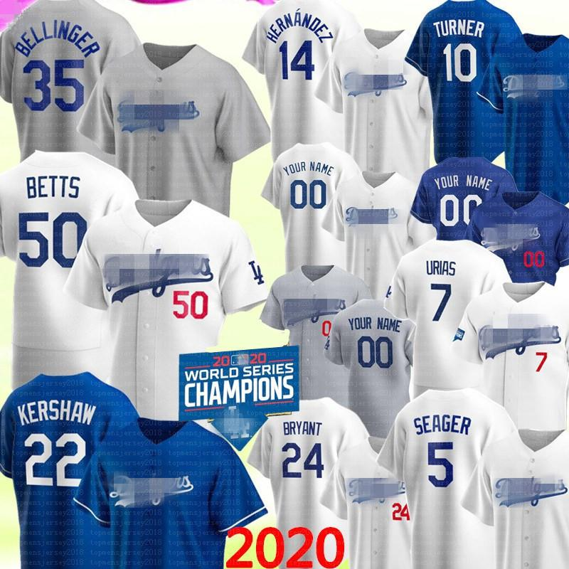 50 Mookie Betts Dodgers 35 Cody Bellinger Jersey Los Clayton Kershaw Angeles Enrique Hernandez Justin Turner Corey Seager PIAZZA JULIO URISIA