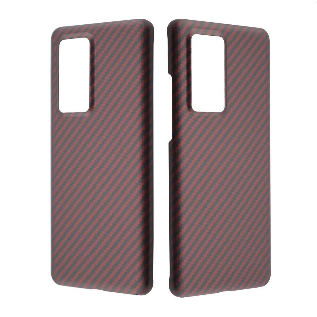 De carbono caja del teléfono para Huawei P40 / P40 PRO fibra de aramida Mate cubierta protectora para Huawei