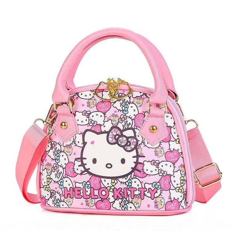 Qgcd9 alla moda e versatili bambini borsa Telefono 4CkzK ragazza casuale borsa rosa semicerchio Mobile portafoglio portafoglio