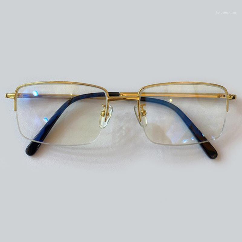 Klassische Metallbrille Rahmen Frauen Retro Marke Rechteck Gläsern Rahmen Männer Brillen1