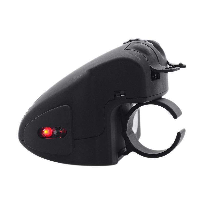 Черный 2.4 ГГц USB-палец Беспроводная оптическая мышь Портативный 2.4 ГГц Беспроводная ленивая мышь для портативного компьютера ПК