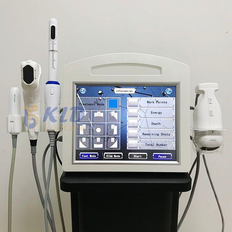 2020 جديد وصول 4d 5d hifu الجلد رفع liposonic الجسم النحت vmax hifu رفع الثدي آلة تشديد المهبل 5 في 1