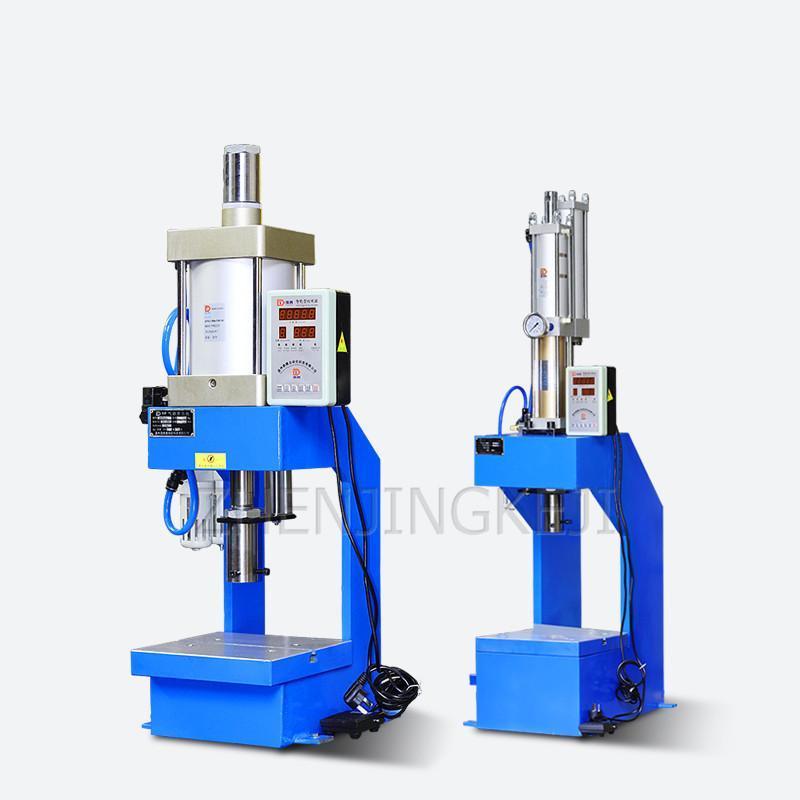 Outils pneumatiques 500kg Appuyez sur la presse Machine de poinçonnage Machine d'équipement portant la perforation articulaire de lettrage